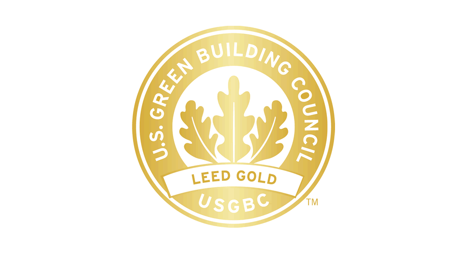 U.S. Green Building Council (USGBC) LEED Gold Logo