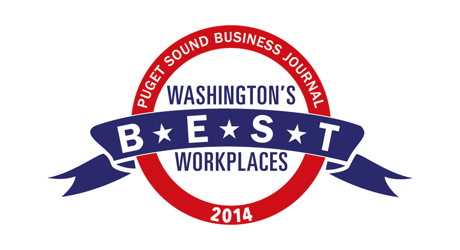 Puget Sound Business Journal Washington's Best Workplaces 2014 Logo
