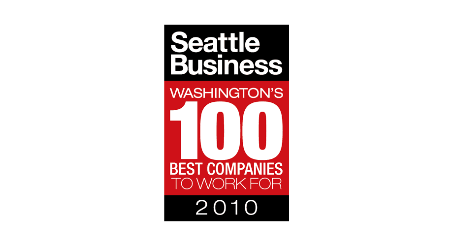Seattle Business Washington's 100 Best Companies to Work for 2010 Logo