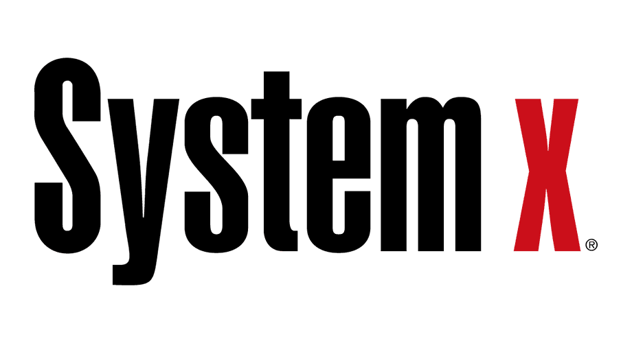 System x Logo