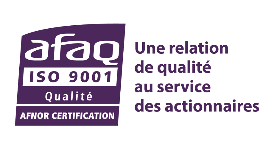 Afaq ISO 9001 Qualite Afnor Certification Logo