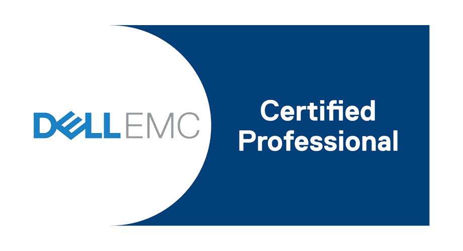 Dell EMC Certified Professional Logo