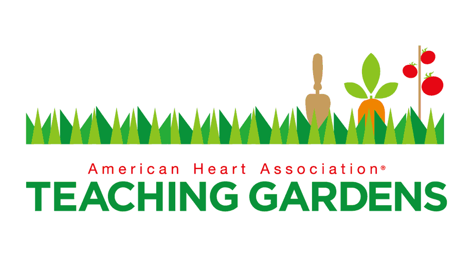 American Heart Association Teaching Gardens Logo