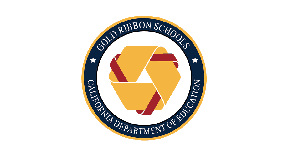 California Gold Ribbon Schools Award Logo