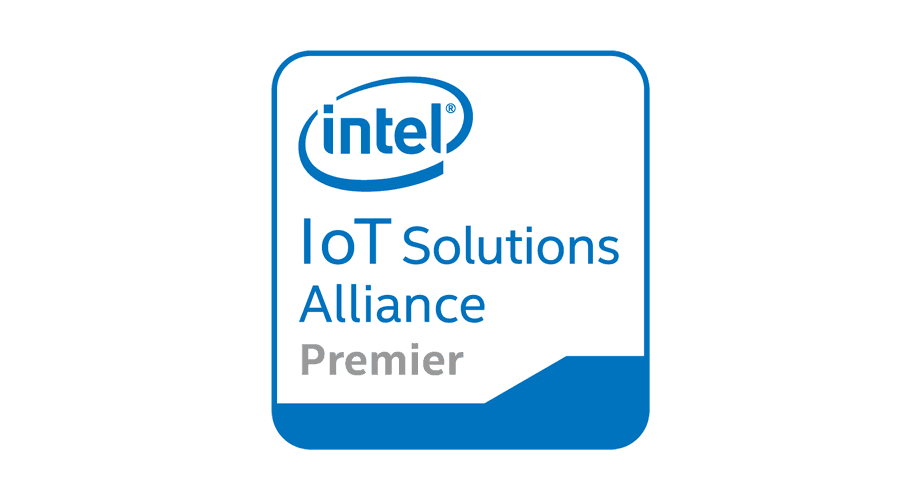 Intel IoT Solutions Alliance Premier Logo
