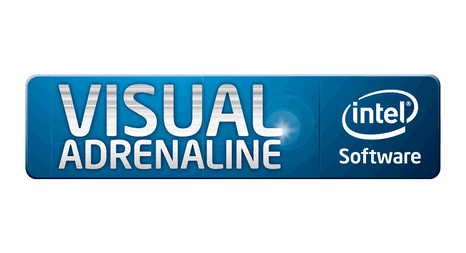 Intel Sofware Visual Adrenaline Logo