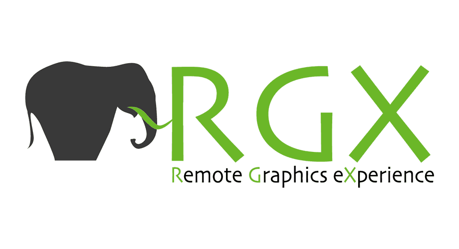 Remote Graphics eXperience (RGX) Logo