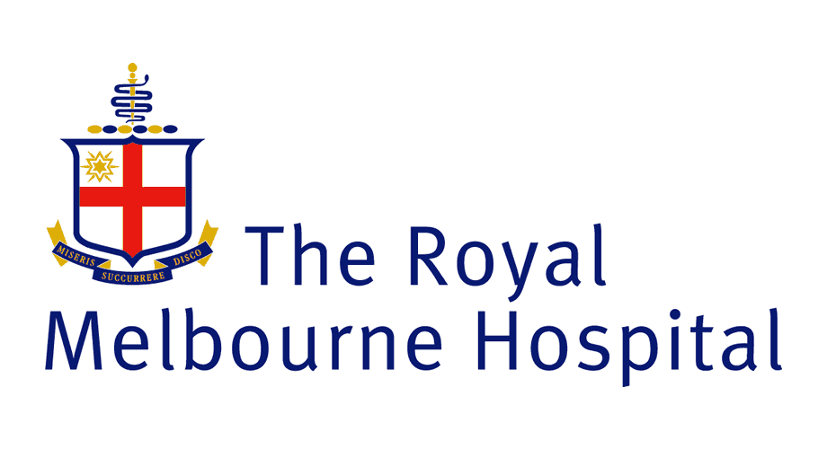 The Royal Melbourne Hospital (RMH) Logo