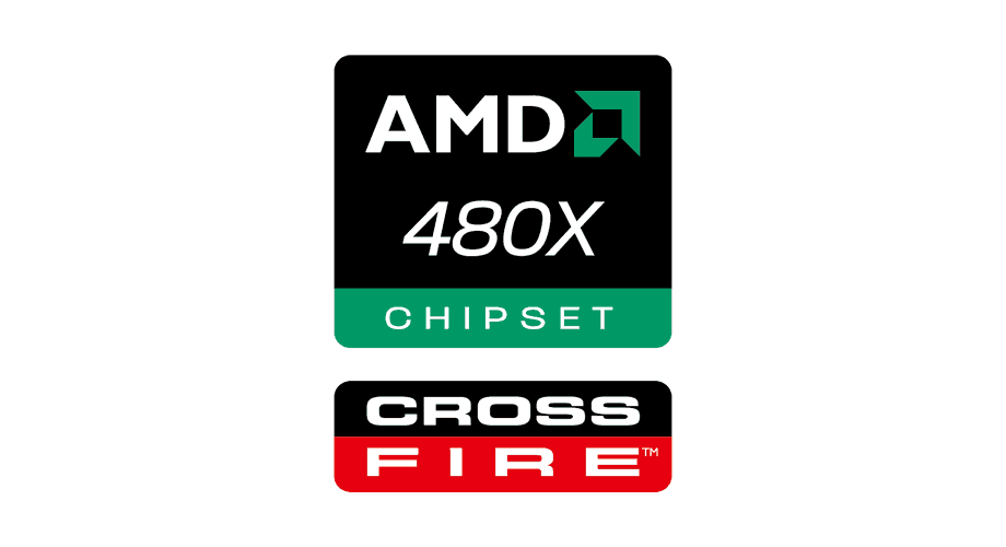 AMD 480X CrossFire Chipset Logo