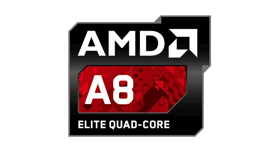 AMD A8 Elite Quad-Core Logo
