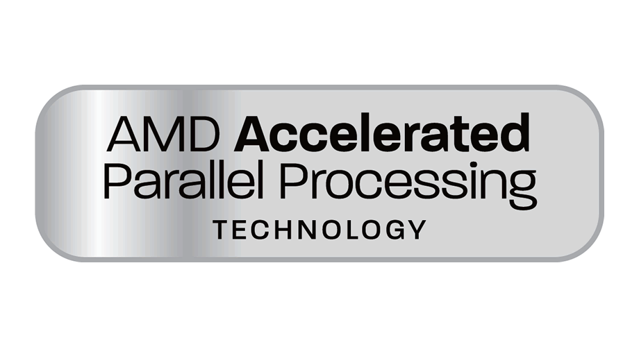 AMD Accelerated Parallel Processing Technology Logo