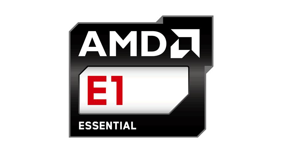 AMD E1 Essential Logo