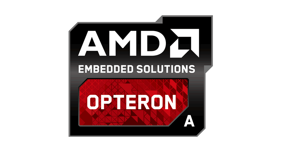 AMD Embedded Solutions Opteron A Logo