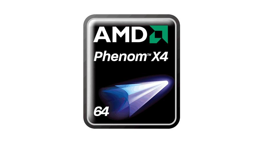 AMD Phenom X4 64 Logo