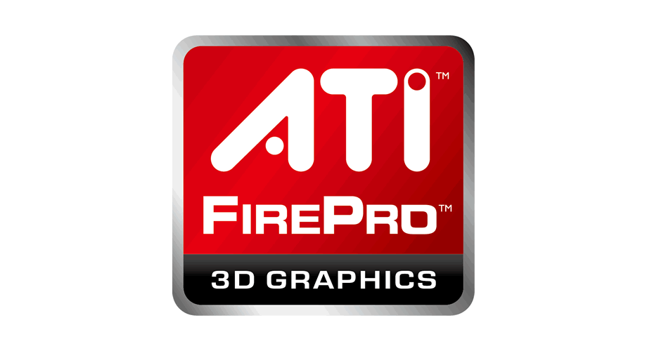 ATI FirePro 3D Graphics Logo