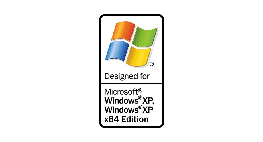 Designed for Microsoft Windows XP, Windows XP x64 Edition Logo