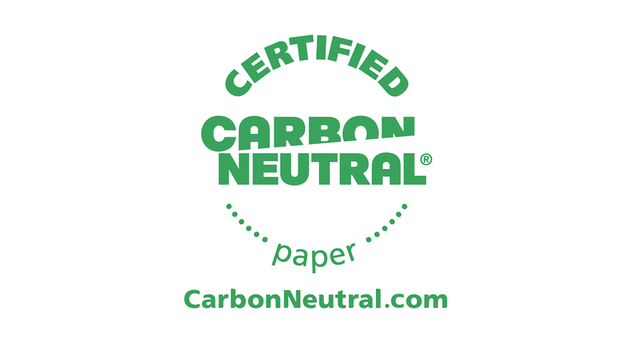 Certified CarbonNeutral Paper Logo