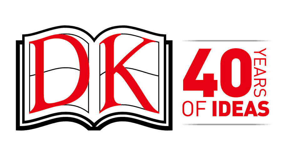 DK 40 Years of Ideas Logo