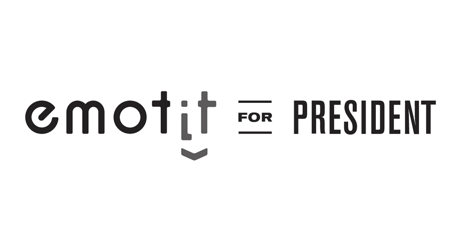 Emotit for President Logo
