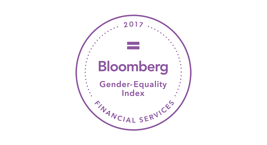 2017 Bloomberg Financial Services Gender-Equality Index Logo