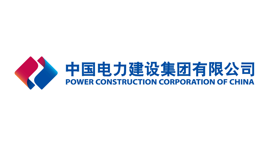 中国电力建设集团有限公司 Power Construction Corporation of China Logo