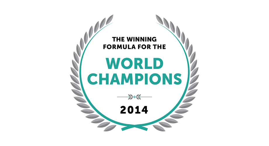 The Winning Formula for The World Champions 2014 Logo