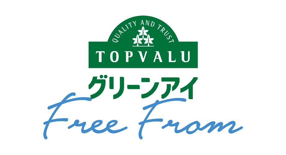 TOPVALU Gurinai Free From Logo
