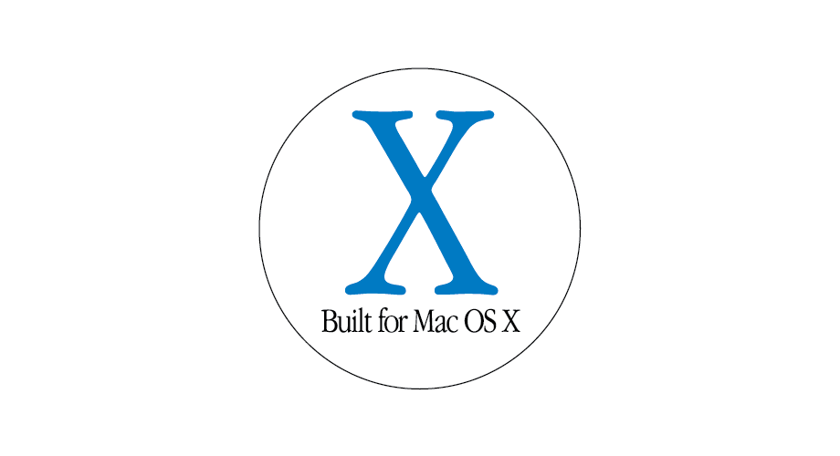 Built for Mac OS X Logo